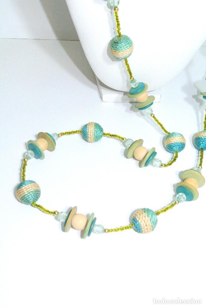 Joyeria: Collar largo verde y color, nuevo - Foto 2 - 209793571