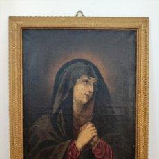 Joyeria: PINTURA RELIGIOSA VIRGEN S. XVII-XVIII ( CUADRO - PINTURA - ÓLEO - ARTE ). Lote 210556193