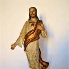 Joyeria: SAGRADO CORAZÓN DE JESÚS.CRISTO TRIUNFANTE RESUCITADO,IMAGINERÍA ARAGONESA.. Lote 210578996