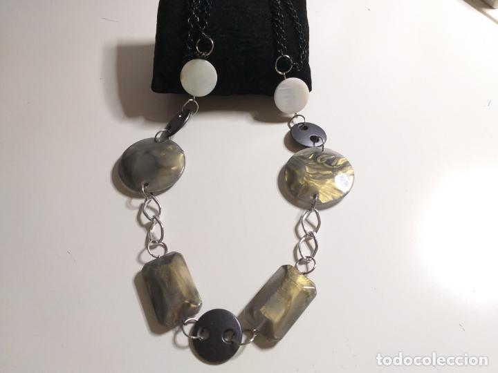 Joyeria: Collar antiguo. Combinación de elementos. 68 CM - Foto 6 - 189876343