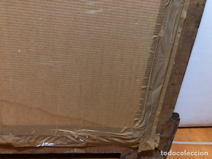 Joyeria: Lámina de San Antonio. marco antiguo .82 x 68 cm con marco . Lamina : 50x 60 cm - Foto 10 - 214082522
