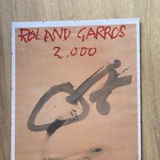 Joyeria: ANTONI TÀPIES ROLAND GARROS 2000 TENIS COLECCION. Lote 214136411
