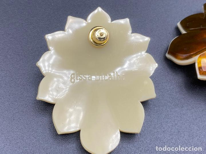 Joyeria: Gissa Bicalho , estilo art decó , acrilico , pendientes de diseño firmados , earrings - Foto 3 - 222432355