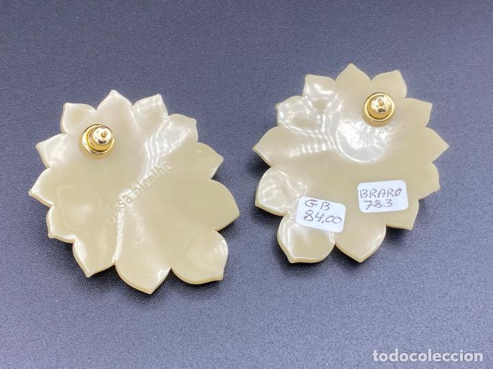 Joyeria: Gissa Bicalho , estilo art decó , acrilico , pendientes de diseño firmados , earrings - Foto 6 - 222432355