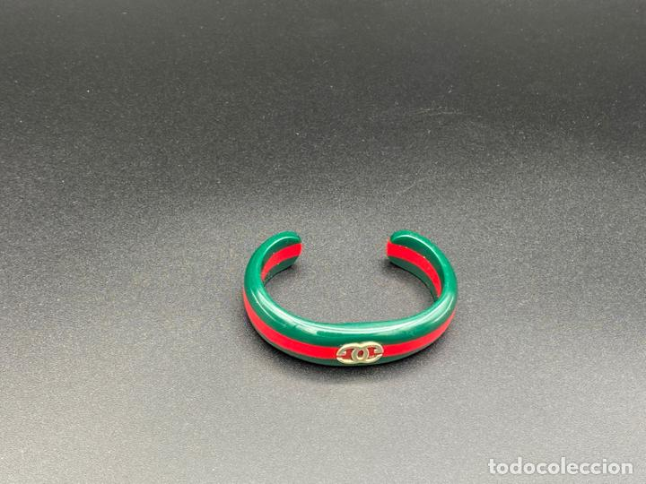 Joyeria: Bracelet Gucci original lucite , pulsera brazalete Gucci , vintage - Foto 3 - 222434691