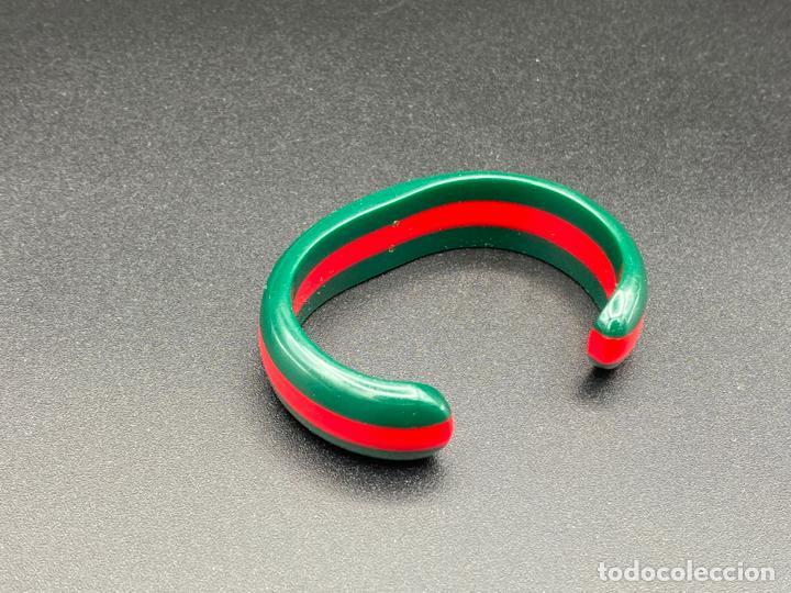 Joyeria: Bracelet Gucci original lucite , pulsera brazalete Gucci , vintage - Foto 5 - 222434691