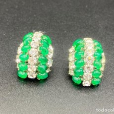 Joyeria: PENDIENTES DE BISUTERÍA DE B.E. COOK , LONDON , VINTAGE , EARRINGS CLIP. Lote 222443240