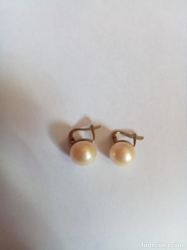 Joyeria: pendientes vintage con perlas - Foto 3 - 222446735