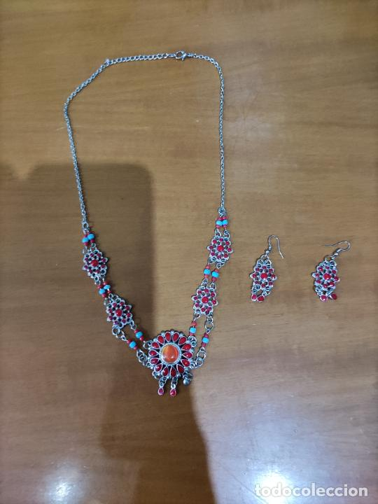 Joyeria: Juego de collar y pendientes - Foto 3 - 222453926