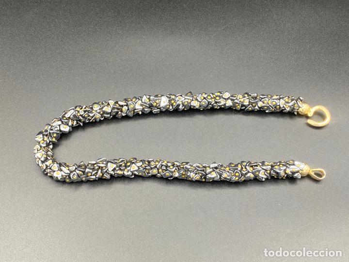 Joyeria: necklace hematite vintage , collar de diseño con hematite - Foto 4 - 222456493