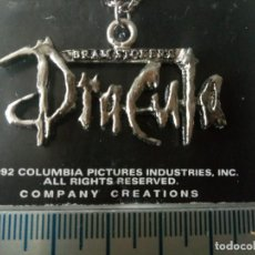 Joyeria: DRACULA BRAM STOKER´S COLGANTE COMPANY CREATIONS 1992 PLATEADO SIN USO. Lote 235845500