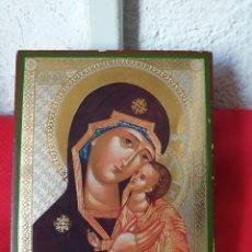Joyeria: ANTIGUO ICONO RELIGIOSO MADERA. Lote 243399440