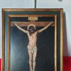Joyeria: ANTIGUO CUADRO MOTIVO RELIGIOSO. Lote 243420615