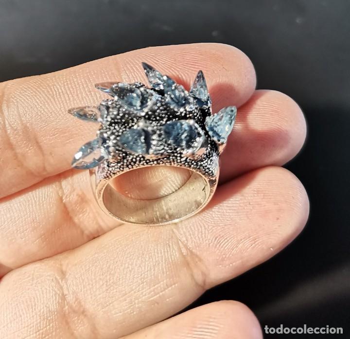 Joyeria: Original anillo con prismas de cristal - Foto 3 - 265564714