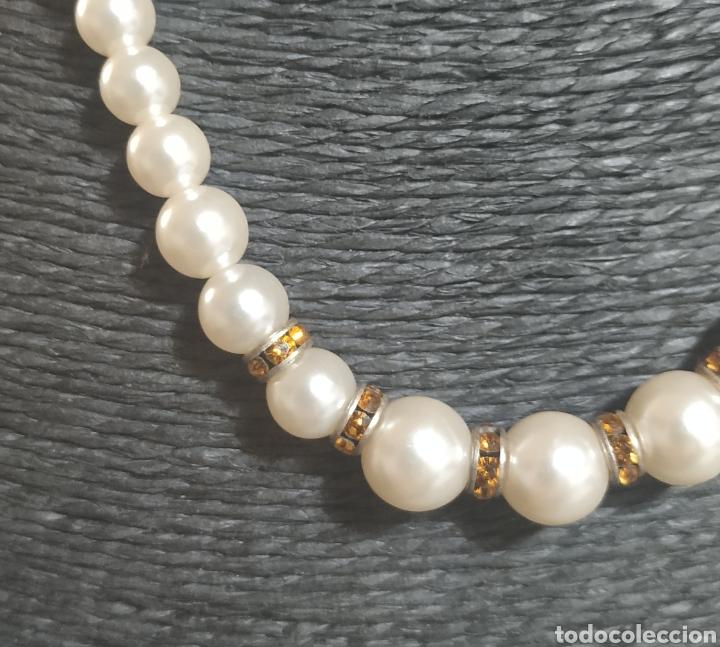 Joyeria: Gargantilla de perlas y circonitas - Foto 2 - 273080573