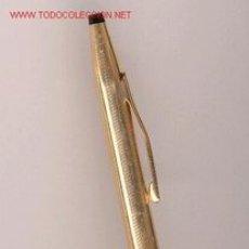 Bolígrafos antiguos: BOLÍGRAFO CROSS. Lote 26416893