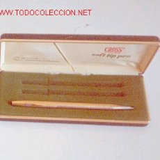 Bolígrafos antiguos: BOLIGRAFO CROSS. Lote 26071315