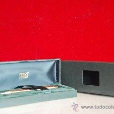 Bolígrafos antiguos: BOLIGRAFO CROSS 10 KT ROLLED GOLD CAP BARREL.IRELAND.LOGO SCHERING. Lote 26444360