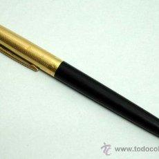 Bolígrafos antiguos: BOLÍGRAFO PLAQUE OR CHAPADO ORO WATERMANS. Lote 20073967