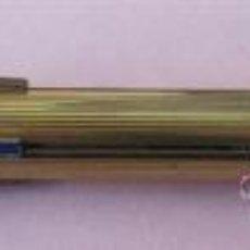 Bolígrafos antiguos: BOLÍGRAFO DE CUARTO COLORES WATERMAN .. CHAPADO ORO. Lote 29907439