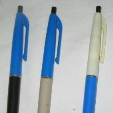 Bolígrafos antiguos: LOTE DE 3 BOLÍGRAFOS COBRA, AÑOS 60. Lote 125848298