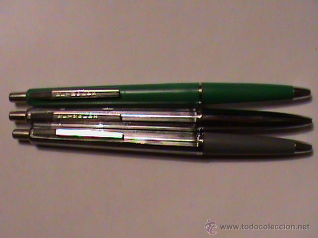 JUEGO DE 3 BOLÍGRAFOS REYNOLDS, AÑOS 70 (Plumas Estilográficas, Bolígrafos y Plumillas - Bolígrafos)