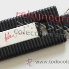 Bolígrafos antiguos: LLAVERO BOLÍGRAFO - PUBLICIDAD EMPRESA DE SEVILLA - TINTA GASTADA - BOLI PUBLICITARIO. Lote 41691237