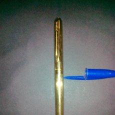 Bolígrafos antiguos: WATERMAN - PLAQUE ORO. EXCELENTE CONSERVACION. . Lote 42471528