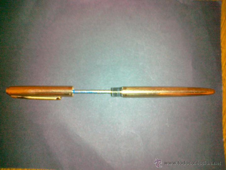 Bolígrafos antiguos: WATERMAN - PLAQUE ORO. EXCELENTE CONSERVACION. - Foto 4 - 42471528