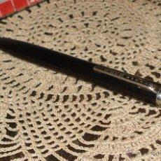 Bolígrafos antiguos: ORIGINAL BIROME BOLIGRAFO BAKELITA NEGRA SIN TINTA COLECCIONABLE CIRCA 1950 BIRO INVENTOR ARGENTINO. Lote 45091916