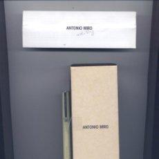 Bolígrafos antiguos: BOLIGRAFO DE ANTONIO MIRO. Lote 47743405