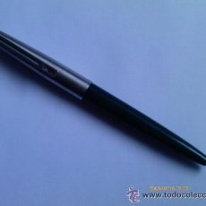 Bolígrafos antiguos: BOLIGRAFO INOXCROM 77 - VERDE. Lote 49200226
