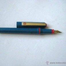 Bolígrafos antiguos: PLUMA ESTILOGRAFICA. CARTUCHO DE TINTA....ENVIO INCLUIDO. Lote 50889645