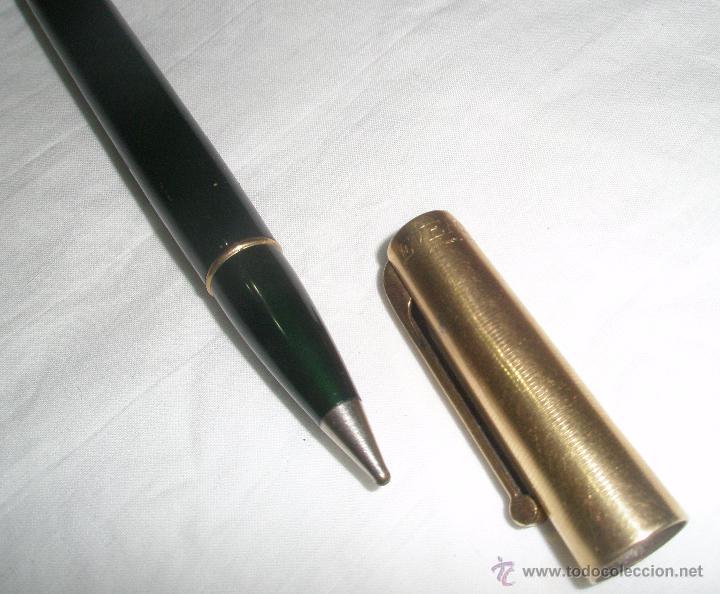 Bolígrafos antiguos: ANTIGUO BOLIGRAFO EVERSHARP 1/10 14 K YGF PAT ,MADE IN USA AÑOS 20 - Foto 2 - 51589374
