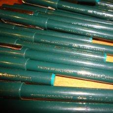 Bolígrafos antiguos: ROTULADOR FABER CASTELL FINEPEN 499 DOCUMENT VERDE -CIERRE PAPELERIA PRECIO TIENDA ENTRE 5 Y 8 EUROS. Lote 54017177