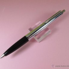 Bolígrafos antiguos: 1848-BOLÍGRAFO-KAWECO 220-GERMANY-NEGRO+CROMO-BUEN ESTADO-VER FOTOS.(C). Lote 54723949