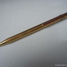 Bolígrafos antiguos: OPORTUNIDAD MUST DE CARTIER TRES AROS EN TRES OROS, BLANCO,ROSA,AMARILLO. . Lote 55947234