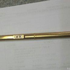 Bolígrafos antiguos: ANTIGUO PAPER MATE BAÑADO DE ORO . Lote 56963265
