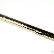 Bolígrafos antiguos: BOLÍGRAFO SHEAFFER CHAPADO EN ORO. Lote 71811983