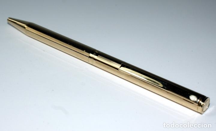 Bolígrafos antiguos: Bolígrafo SHEAFFER chapado en Oro - Foto 3 - 71811983