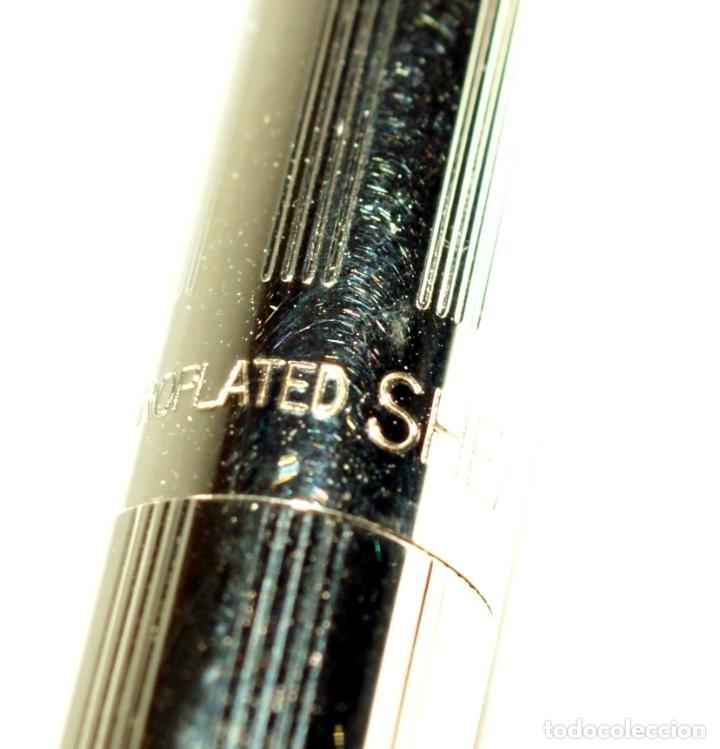 Bolígrafos antiguos: Bolígrafo SHEAFFER chapado en Oro - Foto 6 - 71811983