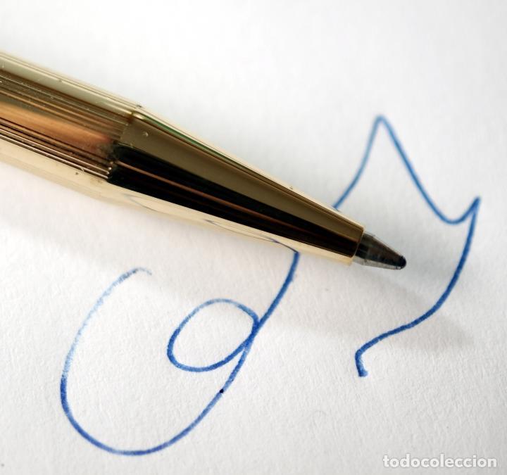 Bolígrafos antiguos: Bolígrafo SHEAFFER chapado en Oro - Foto 7 - 71811983