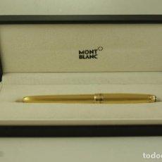 Bolígrafos antiguos: INCREIBLE ROLLER MONTBLANC MEINSTERTRUCK ESTRENAR +BOX. Lote 71910587