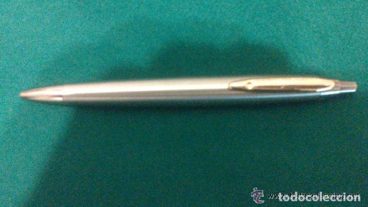 Bolígrafos antiguos: BOLIGRAFO INOXCROM SPAIN PUBLICIDAD DE SEGUROS ALICO - Foto 4 - 72201459