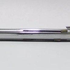 Bolígrafos antiguos: BOLÍGRAFO EN METAL CROMADO MECANISMO DE CUATRO COLORES . Lote 72934123