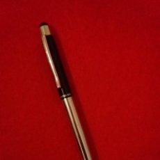 Bolígrafos antiguos: BOLIGRAFO DE DISEÑO (AZUL)__ANTONIO MIRO___PEÑA TAURINA MORENITO DE ARANDA. Lote 75653571