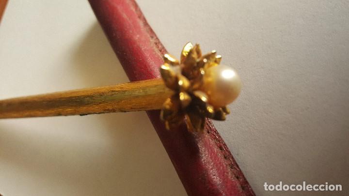 Bolígrafos antiguos: BOLIGRAFO CON PERLA MAJORICA - Foto 2 - 75999271