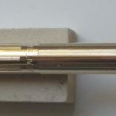 Bolígrafos antiguos: BALLPOINT (BOLIGRAFO) SHEAFFER MOD. SLYM TARGA ORO DE LOS AÑOS 90. Lote 76031527