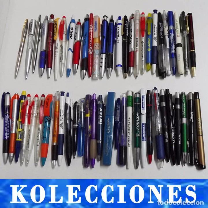56 BOLÍGRAFOS DE PUBLICIDAD, AÑOS 70 Y 80 (Plumas Estilográficas, Bolígrafos y Plumillas - Bolígrafos)
