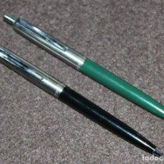 Bolígrafos antiguos - 2 ANTIGUOS BOLIGRAFOS INOXCROM 55 - 77868757
